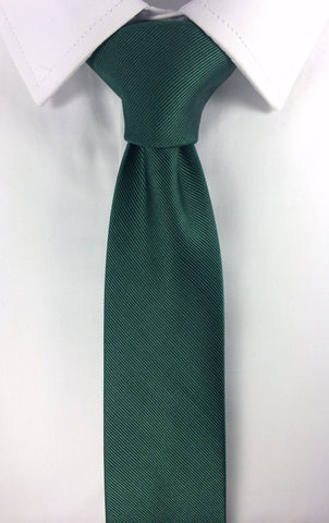 Dark Green Skinnytie