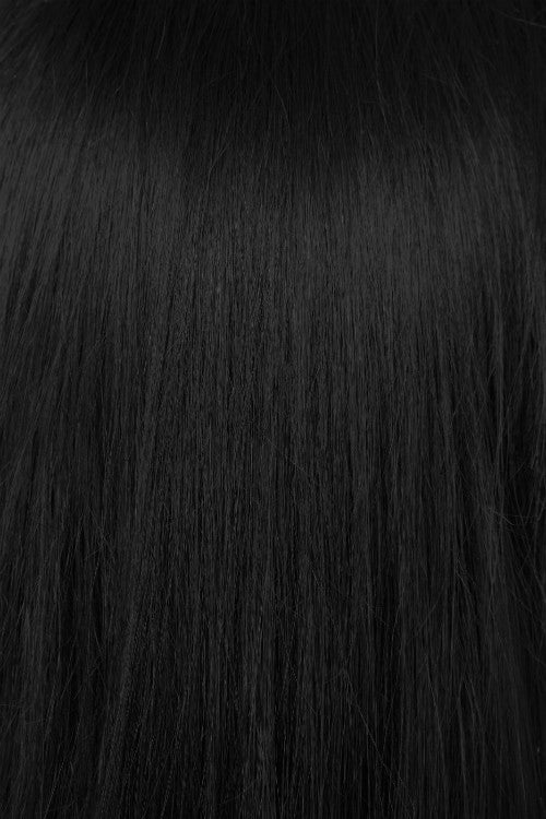 "24"" Micro Loop Hair Extensions 1g - #1 Jet Black"
