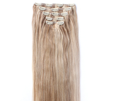 "24"" Clip In Hair Extensions Deluxe Set - #18/613 Honey Blonde Mix"