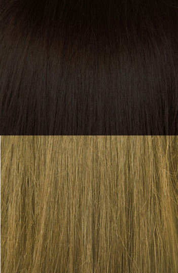 "20"" Balayage Clip In Hair Extensions Deluxe Set - #2/8 Choc Caramel Fudge"