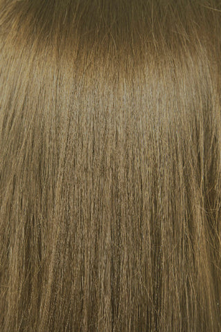"20"" Remy Human Hair Extensions Weft - #6 Light Natural Brown"