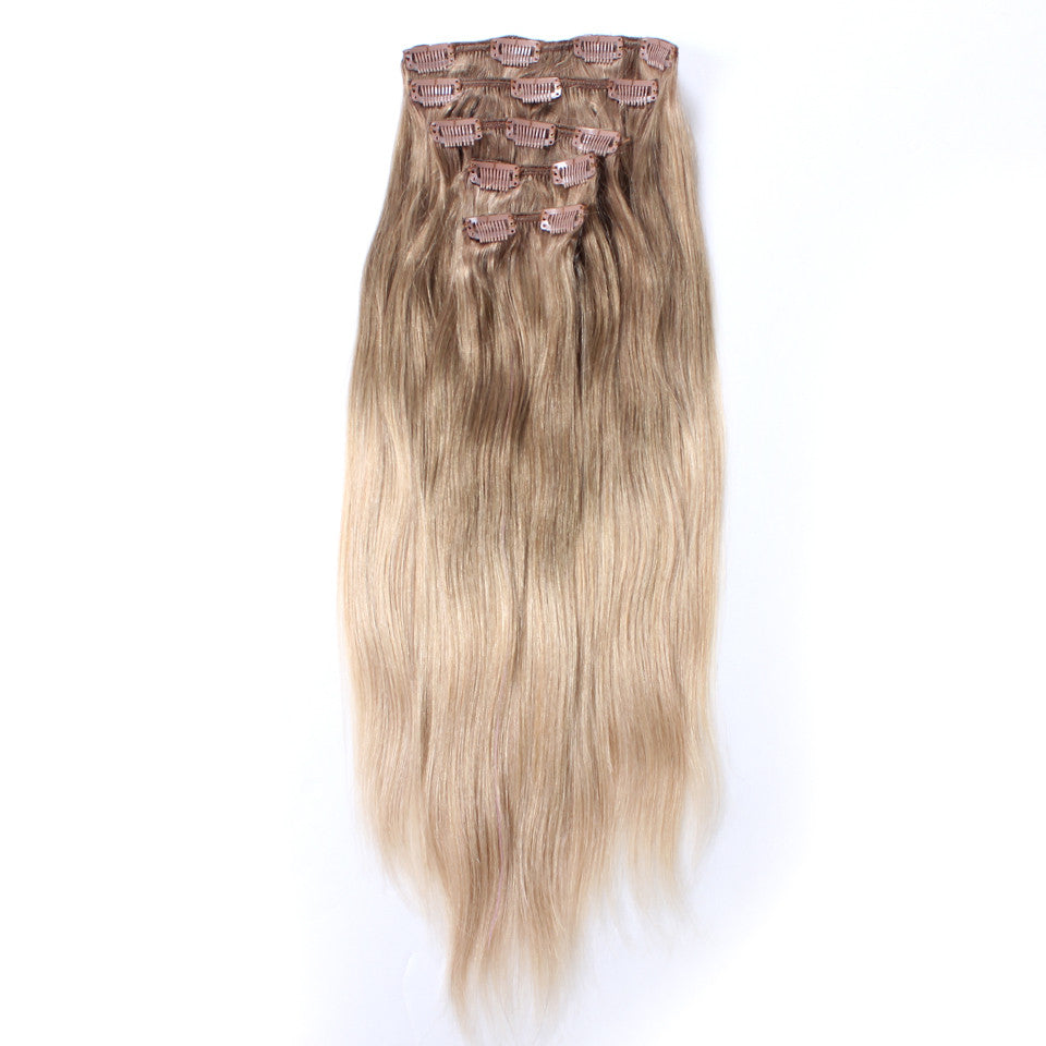 20 balayage clip in hair extensions deluxe set 1424 blondes 20 balayage clip in hair extensions deluxe set 1424 blondes do pmusecretfo Gallery