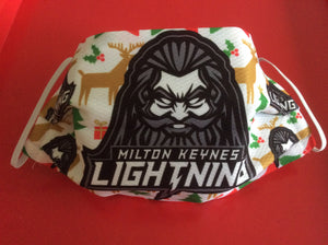 MKL Christmas Face Coverings