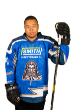 Load image into Gallery viewer, 2019/20 Replica MK Lightning Jersey - Warm Up Jersey (Blue)