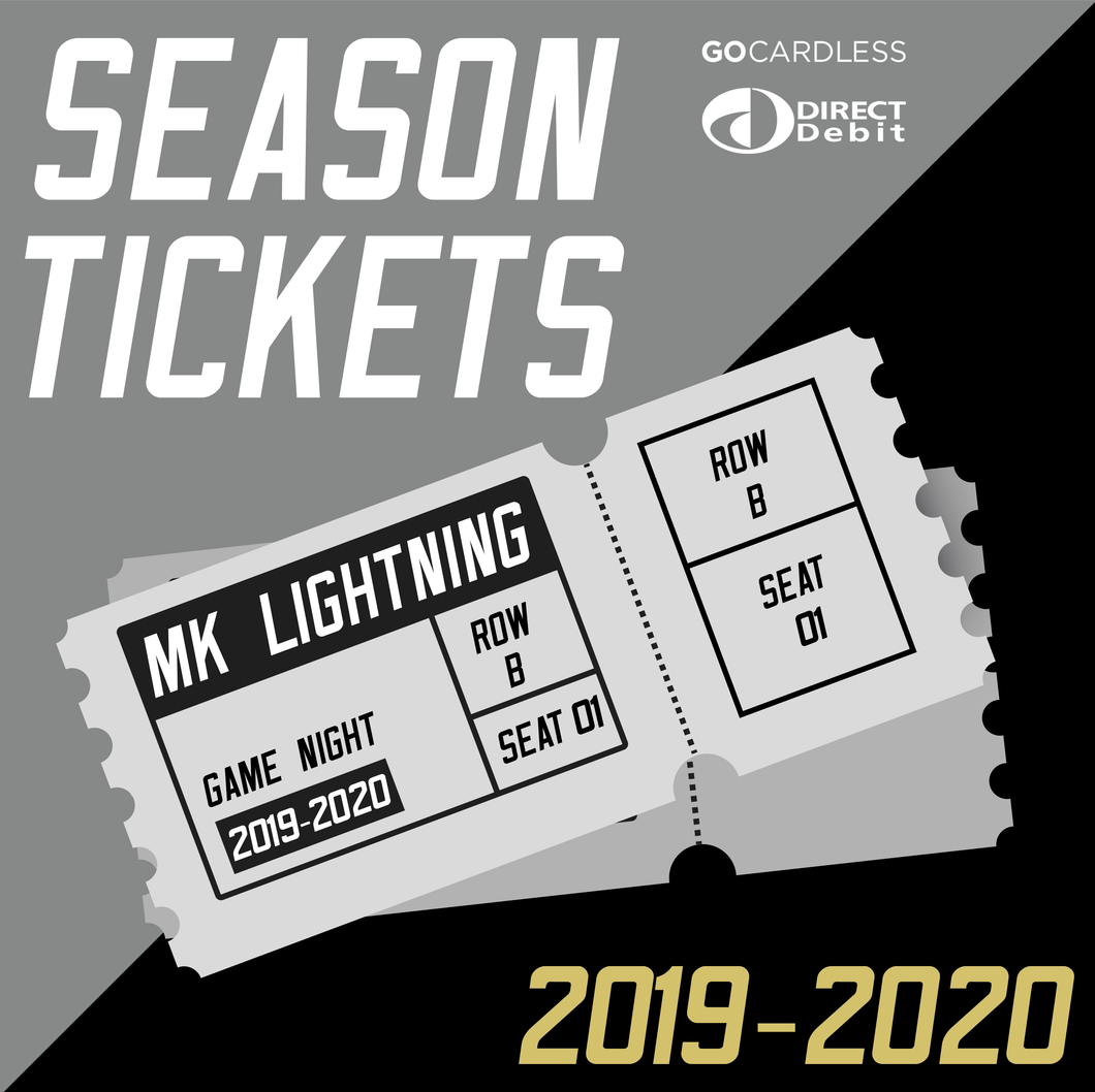 2019/20 MK Lightning DIRECT DEBIT (Early Bird) Season Ticket