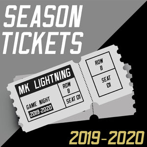 2019/20 MK Lightning EARLY BIRD Season Ticket