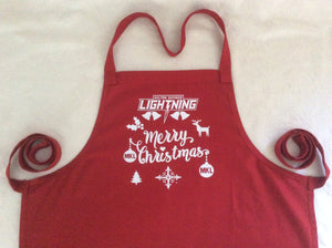 Christmas Red MKL Apron