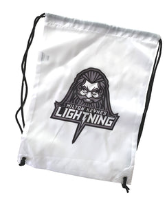 Gym Sack featuring MK Lightning's Zeus Logo