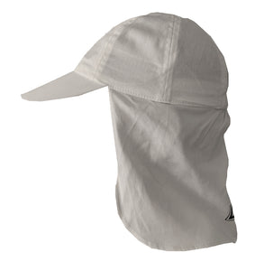 White, Personalised Children's Legionnaire-style Sun Cap