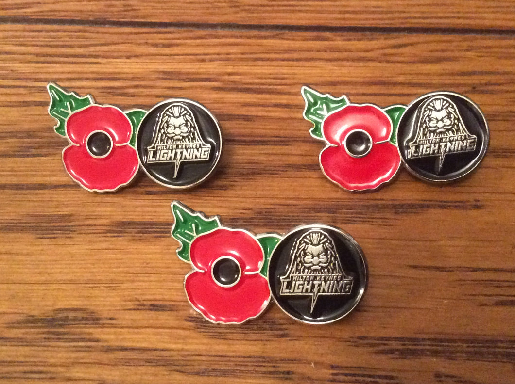 MKL Poppy Badges