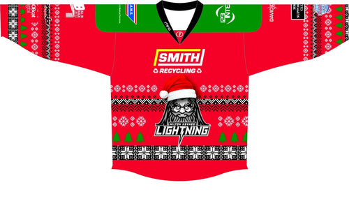 2019/20 Replica MK Lightning Jersey - Christmas Jersey - Custom Names and Numbers