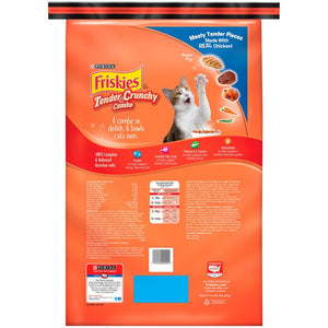 Friskies Tender and Crunchy Combo Dry Cat Food