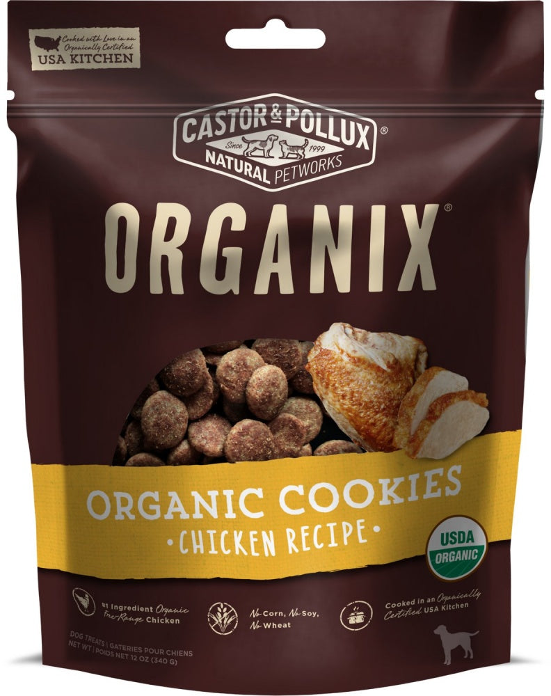 Castor and Pollux Organix Chicken Dog Treats