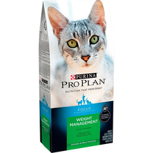Load image into Gallery viewer, Purina Pro Plan Focus Weight Management Chicken & Rice Formula Dry Cat Food