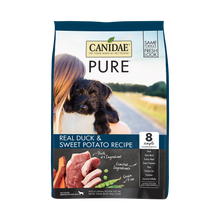 Load image into Gallery viewer, Canidae Grain Free PURE Duck & Sweet Potato Recipe Dry Dog Food