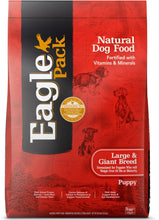 Load image into Gallery viewer, Eagle Pack Natural Large Breed Health Puppy Dry Dog Food