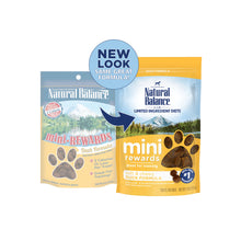 Load image into Gallery viewer, Natural Balance Limited Ingredient Diets Mini Rewards Duck Formula Dog Treats