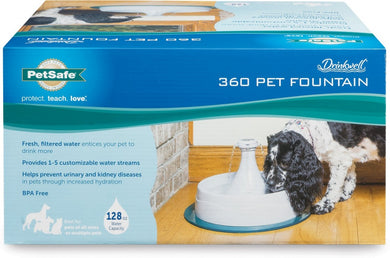 PetSafe Drinkwell 360 Plastic Fountain