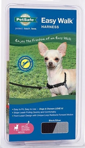 PetSafe Easy Walk Black & Silver Dog Harness