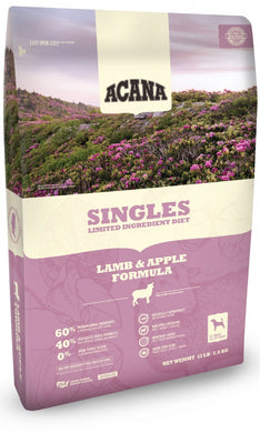 ACANA Singles Limited Ingredient Diet Lamb and Apple Formula  Grain Free Dry Dog Food