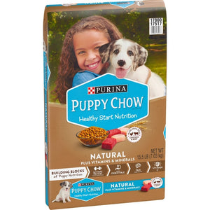 Purina Puppy Chow Natural Chicken Plus Vitamins & Minerals Dry Puppy Food
