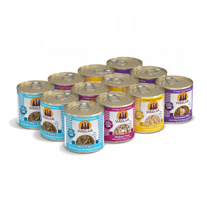 Weruva Classic The 10 Ounce Pounce Grain Free Canned Cat Food Variety Pack