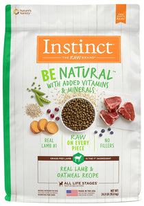 Nature's Variety Instinct Be Natural Lamb & Oatmeal Recipe Dry Dog Food