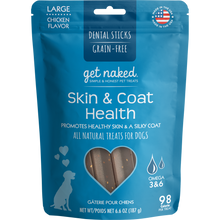 Load image into Gallery viewer, N-Bone Get Naked Grain Free Skin & Coat Dental Chew Dog Treats