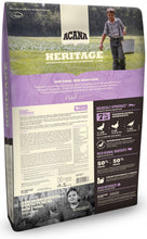 Load image into Gallery viewer, ACANA Heritage Feast Formula Grain Free Dry Dog Food