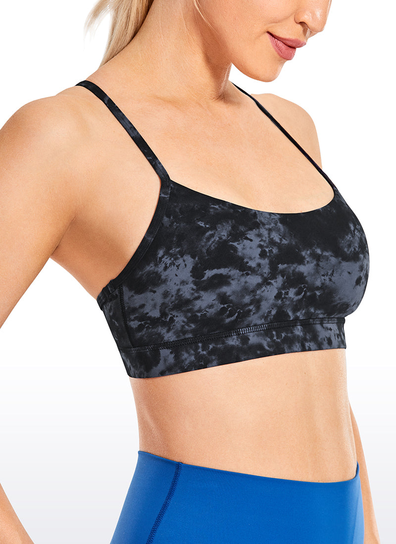 Pattern Free Feeling Yoga Bra Y-back