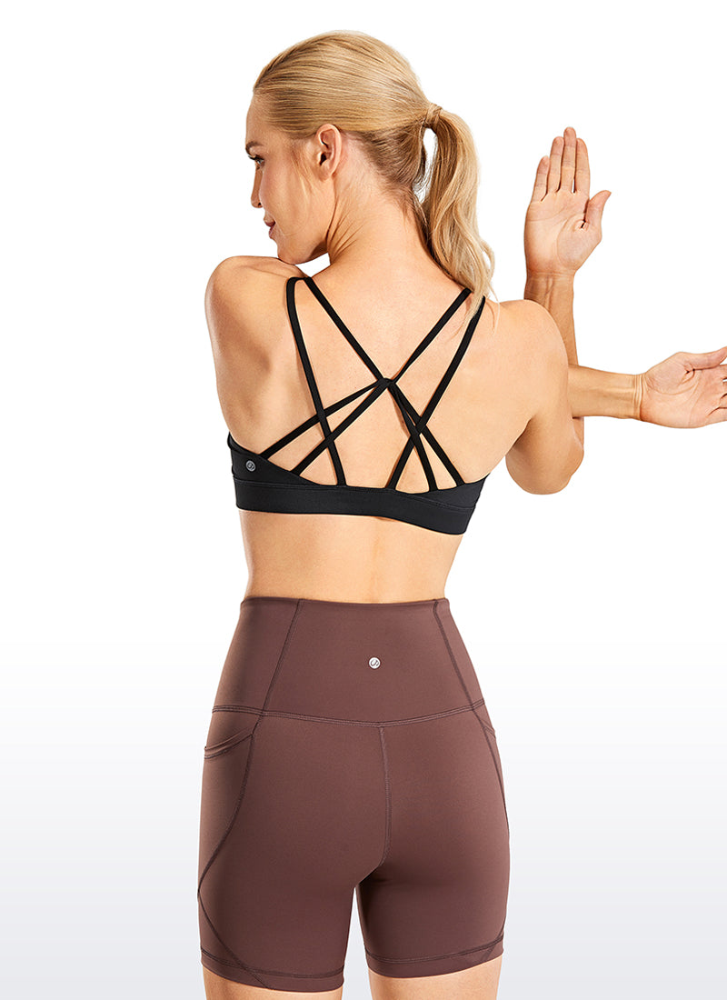 Free Feeling Strappy Sports Bras Low Impact