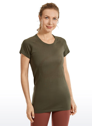 Speedy Seamless Short Sleeves Slim Fit
