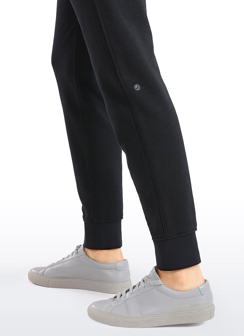 Cotton Jogger Sweatpants with Pockets 29''