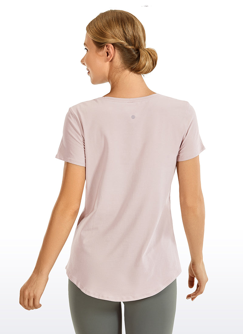 Pima Cotton Short Sleeves