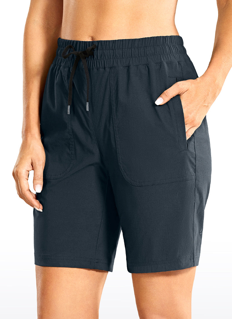 Quick-Dry Shorts with Side Pockets 9''