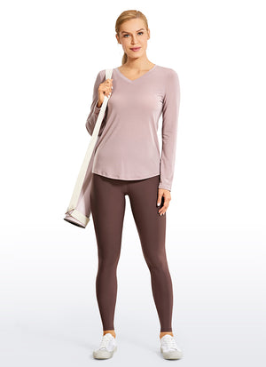 Workout Long Sleeves V-Neck