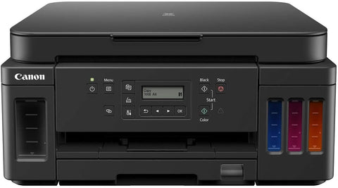 Canon PIXMA G6070 All-in-one Wi-Fi Colour Ink Tank Printer with Auto-Duplex Printing and Networking (Black)