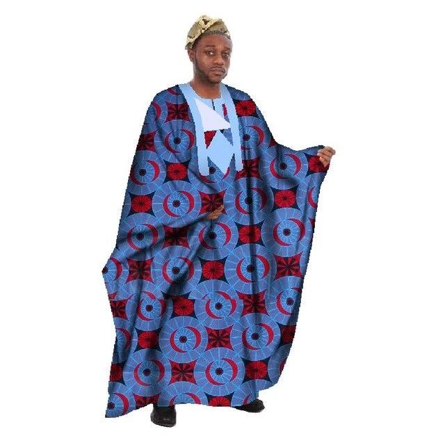 Boubou Africain Homme Lune