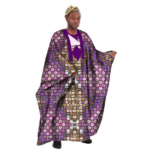 Boubou Africain Homme Rond Rose