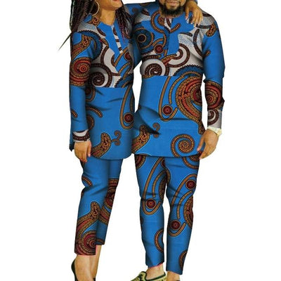 Ensemble Africain Couple Escargot