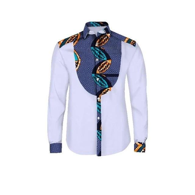 Chemise Africaine <br> Homme Luxe Tradition