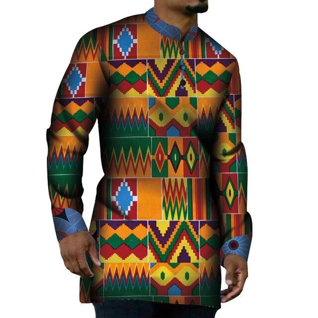 Chemise Africaine Couleurs Typiques