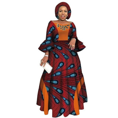 Robe Africaine Longue Gouttes