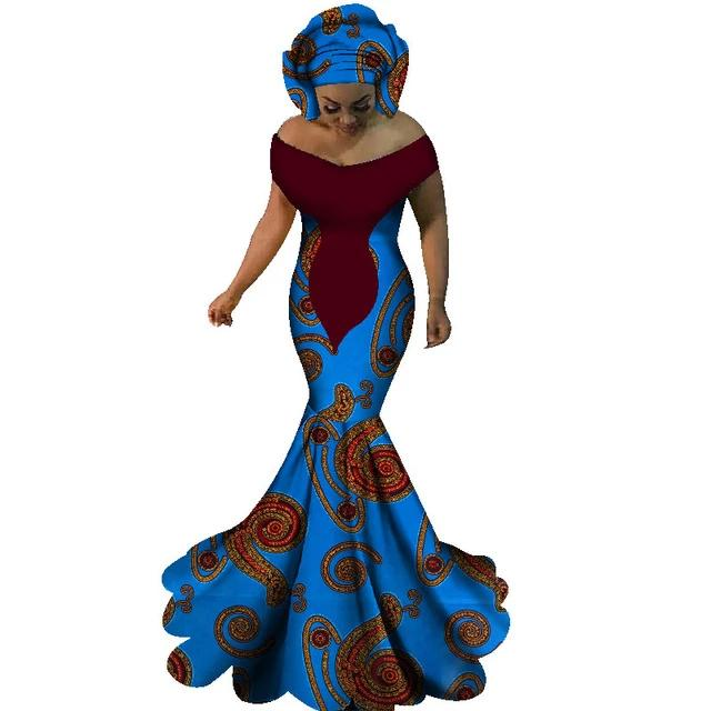 Robe Africaine Longue Spirale