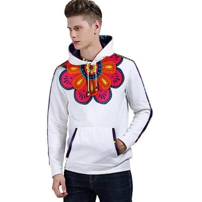 Sweat Africain Dashiki Big Flower