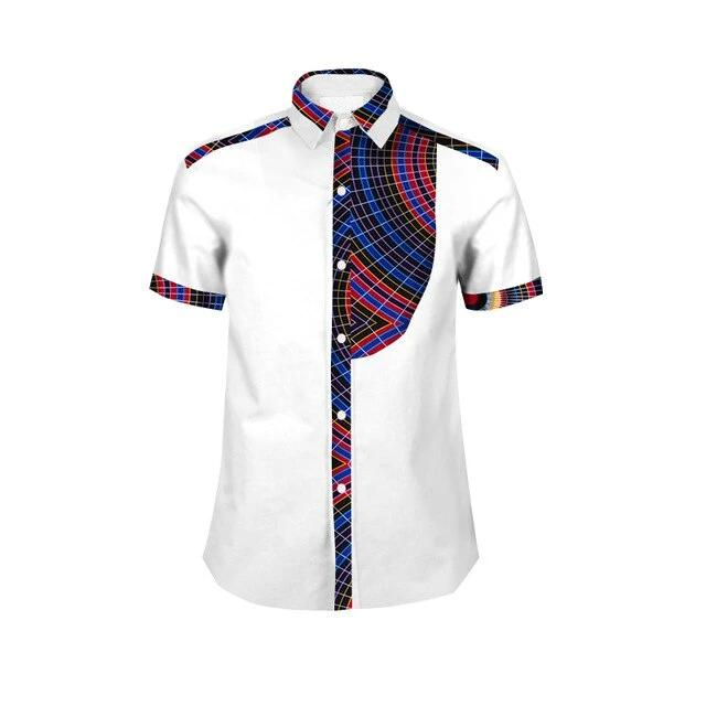 Chemise Africaine Homme Fashion Couleur