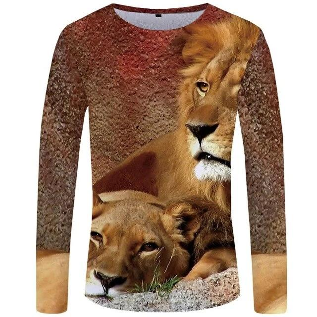 T-Shirt Lion Amor (Long)