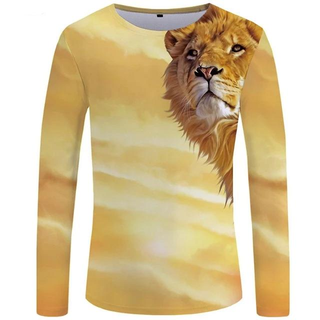 T-Shirt Lion <br> Contemplation (Long)
