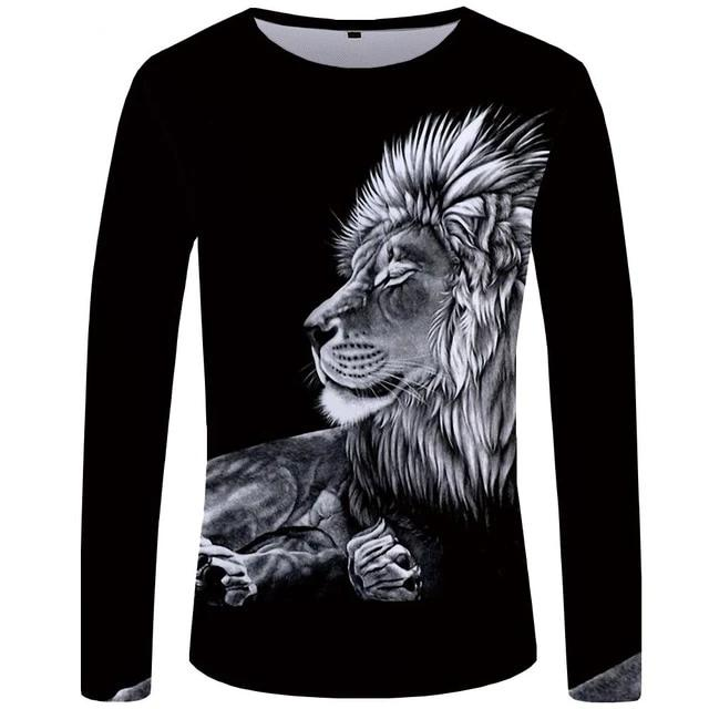 T-Shirt Lion Repos (Long)