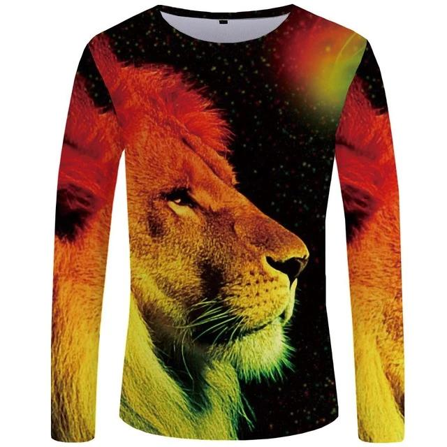 T-Shirt Lion Moonlight (Long)